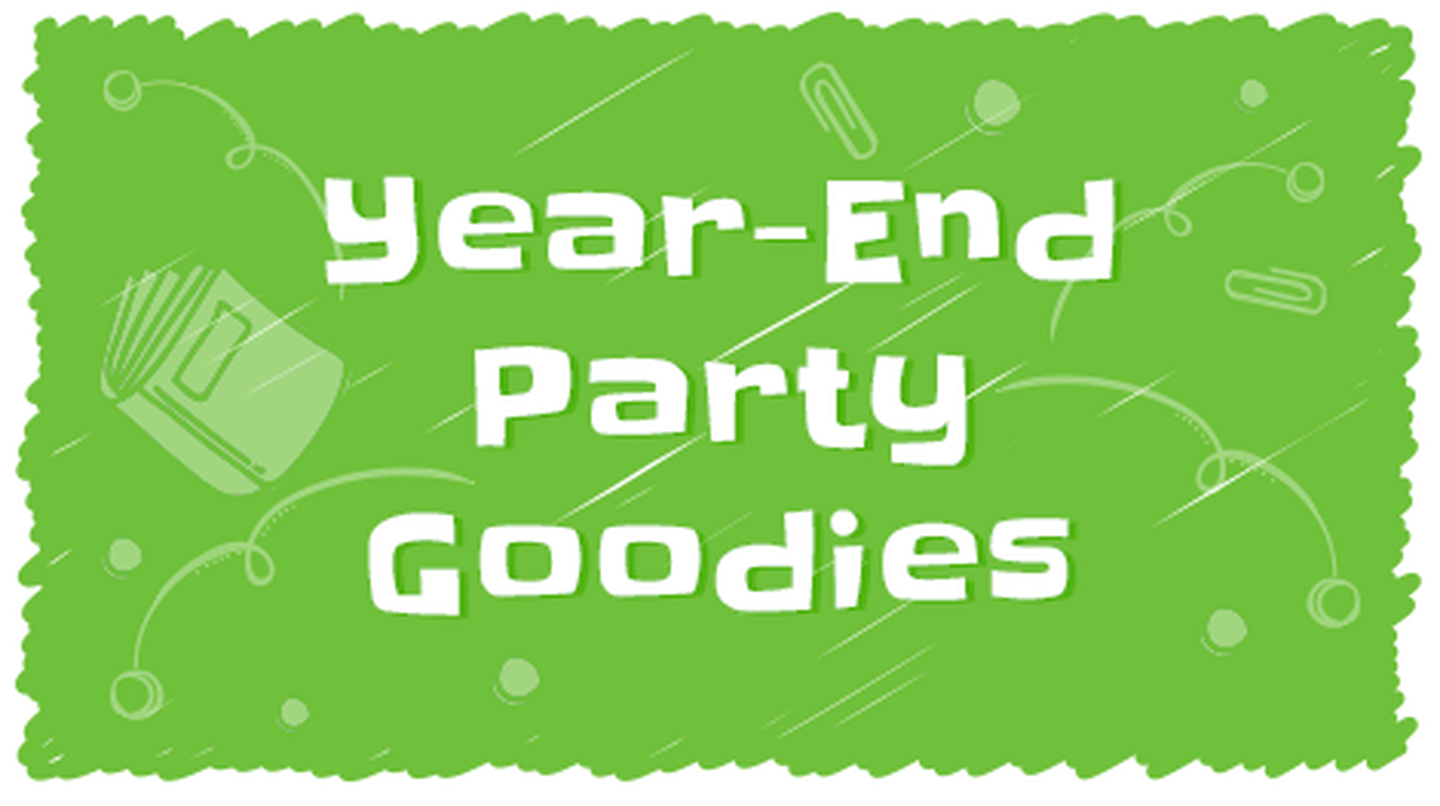 Year-End Party Goodies
