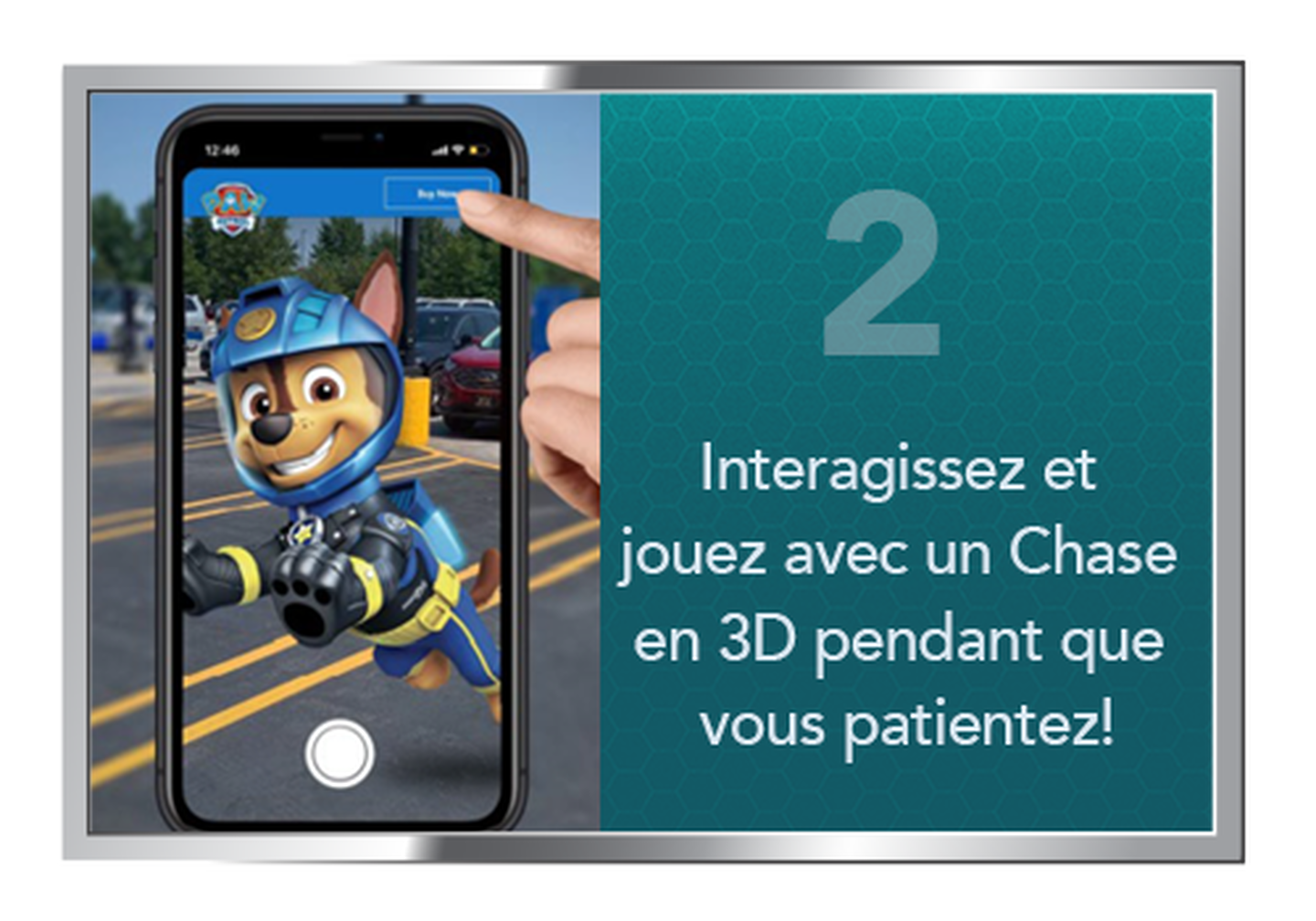Interact with Chase from your car
