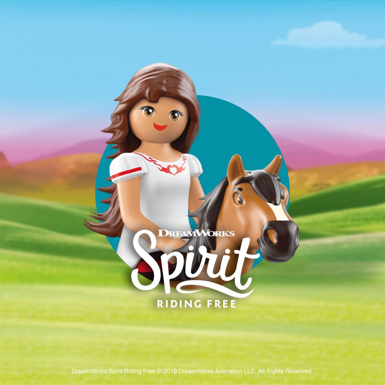 Playmobil DreamWorks Spirit Riding Free
