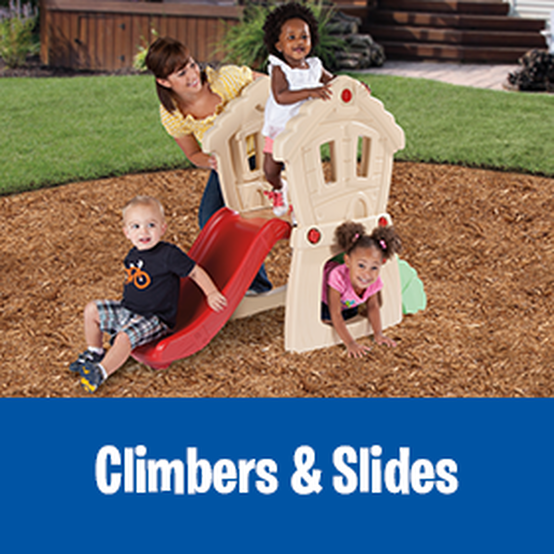 climbers & slides