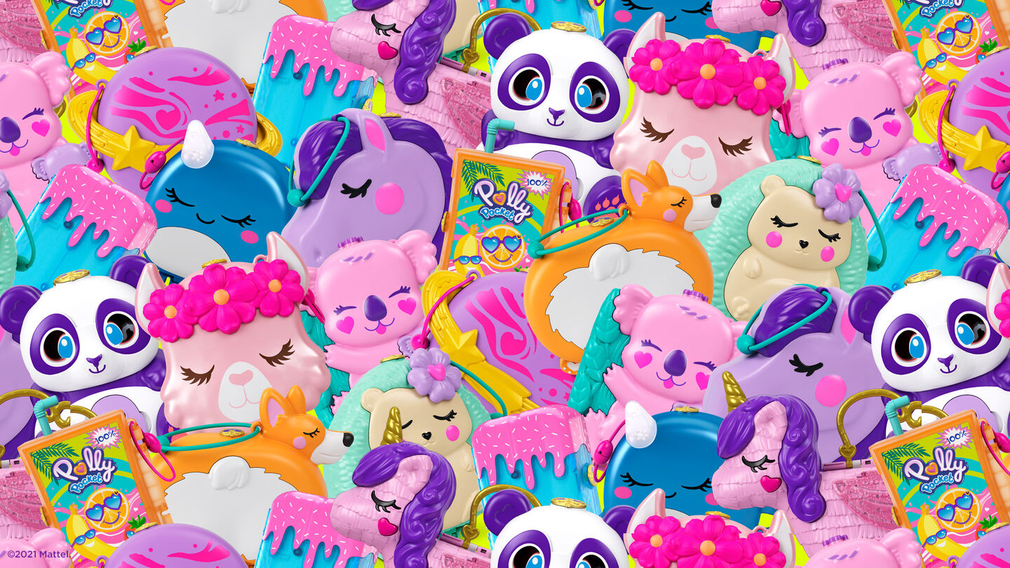 Polly pocket - virtual backgrounds