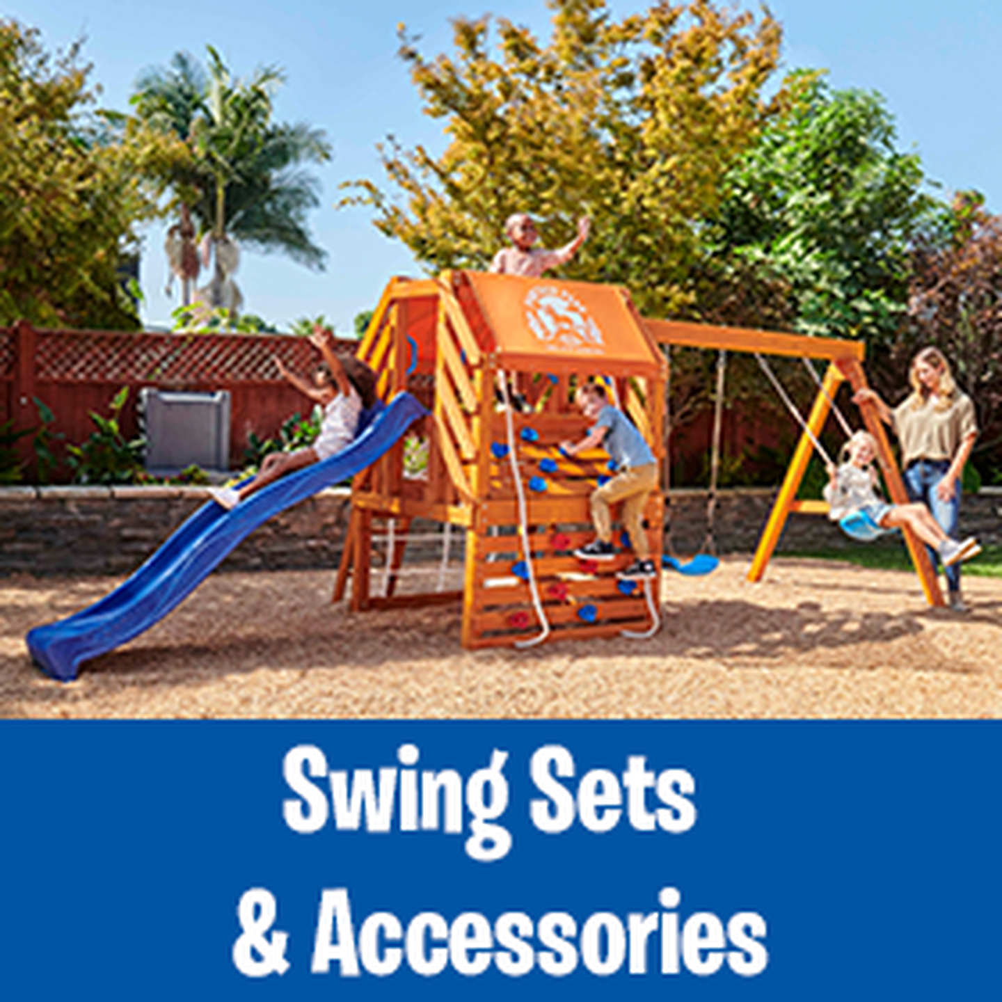 Swing Sets & Accessories