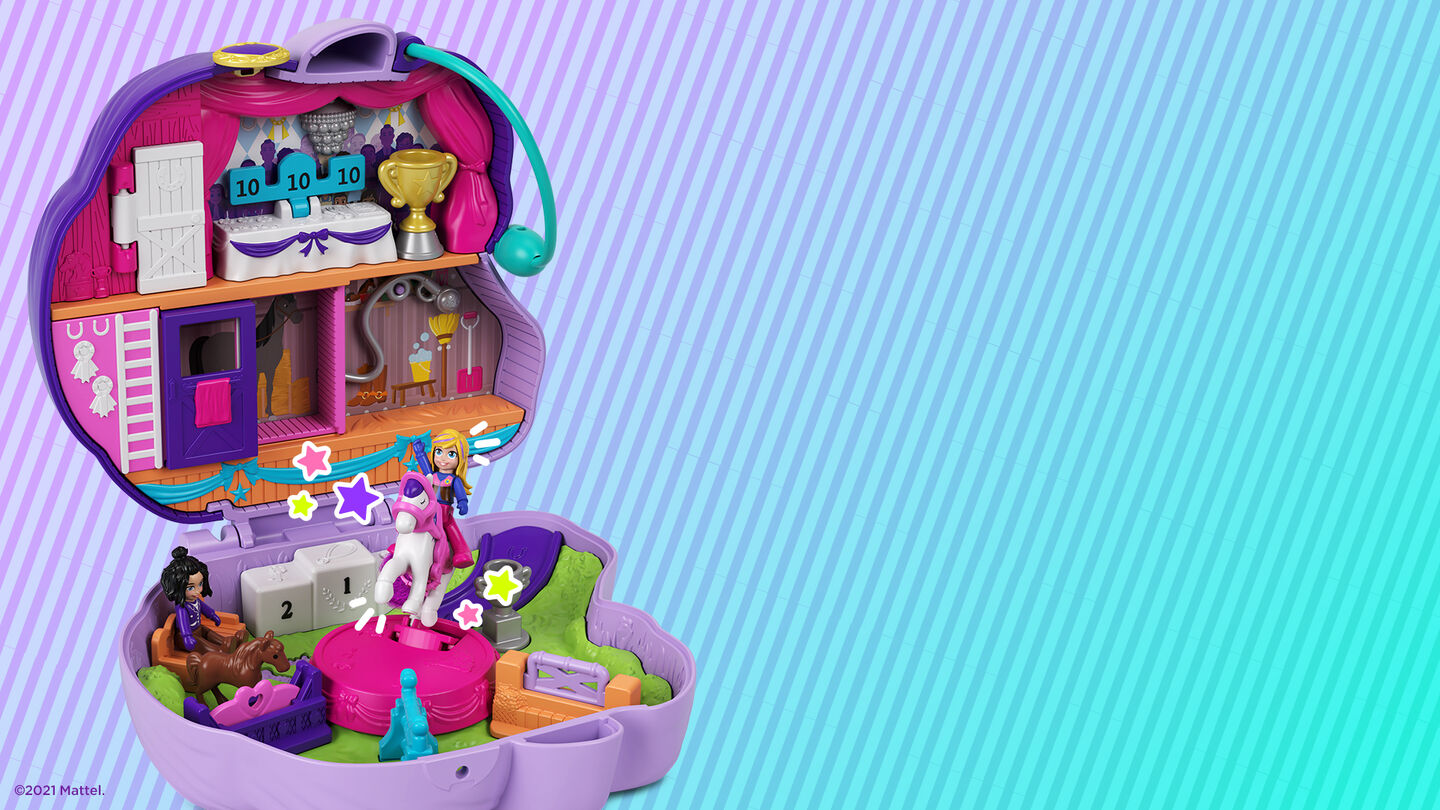 Polly Pocket Virtual Backgrounds