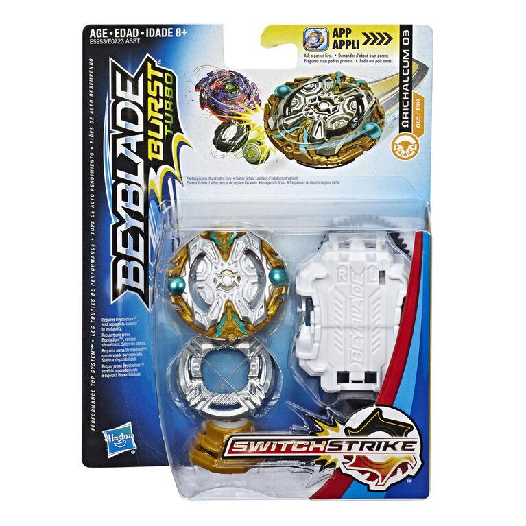 Beyblade Burst Turbo SwitchStrike Orichalcum O3 Starter Pack