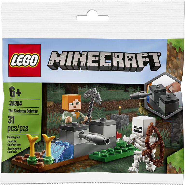 LEGO Minecraft The Skeleton Defense 30394