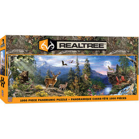 Realtree Panoramic 1000 Piece Jigsaw Puzzle - English Edition