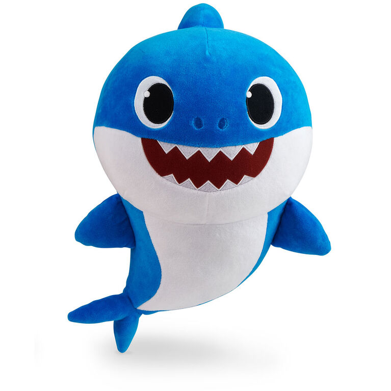 "Pinkfong Baby Shark Official 18"" Plush - Daddy Shark - By WowWee"