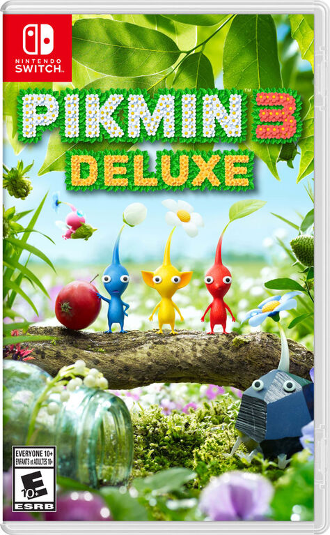 Nintendo Switch - Pikmin 3 Deluxe