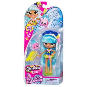 Shopkins Shoppies Style de plage - Popsie Blue.