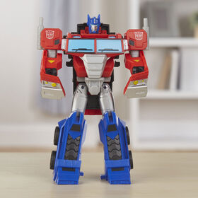 Transformers Cyberverse Action Attackers: Ultra Class Optimus Prime Action Figure