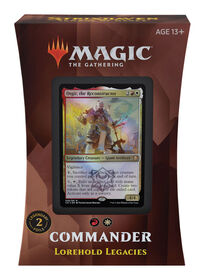 """Magic the Gathering """"Strixhaven: School of Mages"""" Commander Deck-Lorehold Legacies - English Edition"""