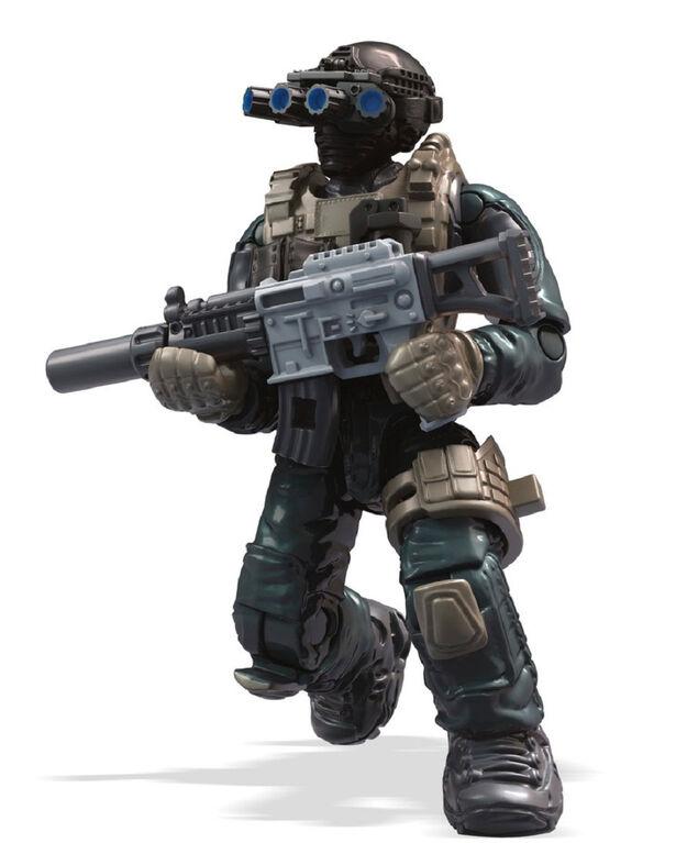 Mega Construx Call of Duty Keegan P Russ Figure