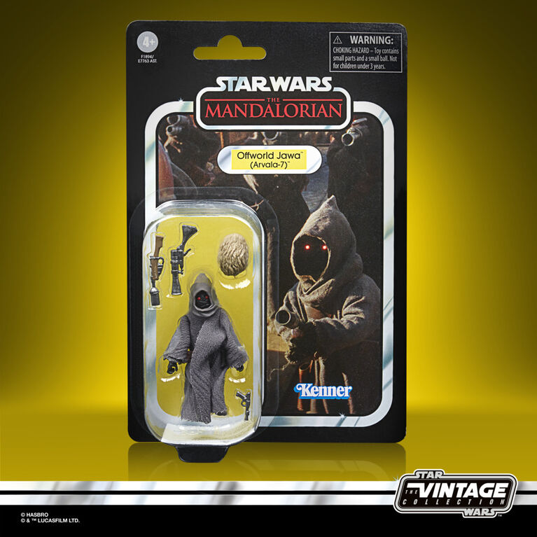 Star Wars The Vintage Collection Offworld Jawa (Arvala-7) Toy