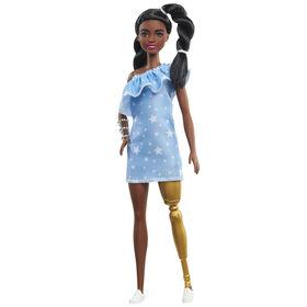 Barbie Fashionistas - Poupée 146 - t robe étoilée