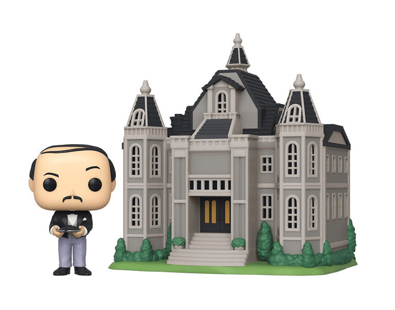 Funko POP! Town Heroes: DC Comics - Alfred Pennyworth with Wayne Manor - English Edition