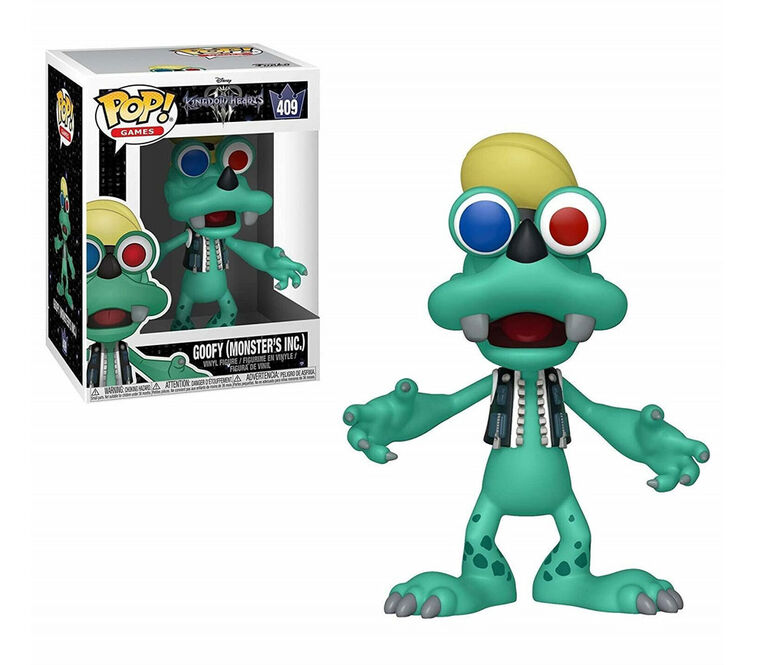 Figurine en Vinyle Goofy (Monster's Inc.) par Funko POP! Kingdom Hearts 3