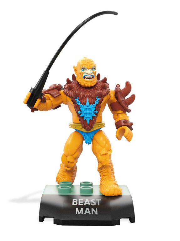 Mega Construx Heroes Masters Of The Universe Beast Man Micro Action Figure