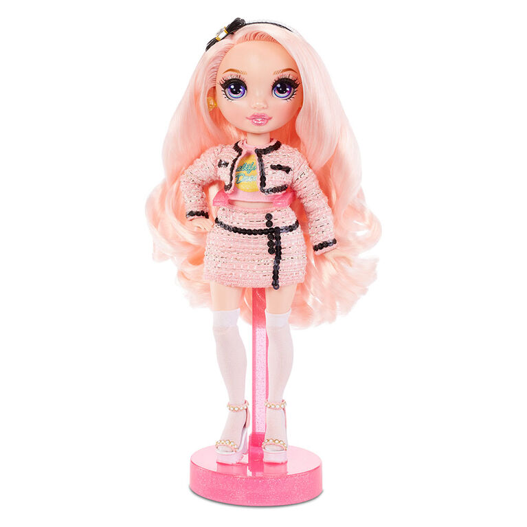 Rainbow High Bella Parker - Pink Fashion Doll with 2 Complete Mix & Match Outfits and Accessories