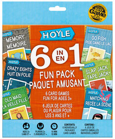 Hoyle Card Games 6-in-1 Fun Pack