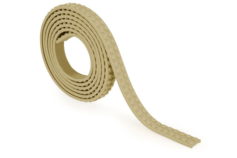 Mayka Toy Block Tape 2 Stud 328ft - Sand