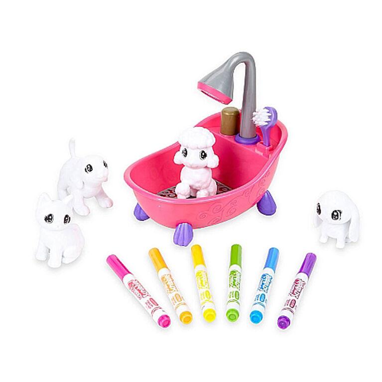 Crayola Scribble Scrubbie Pets Scrub Tub Playset