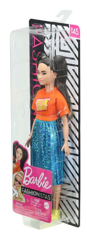 Barbie Fashionistas Doll #145 - Shimmery Skirt