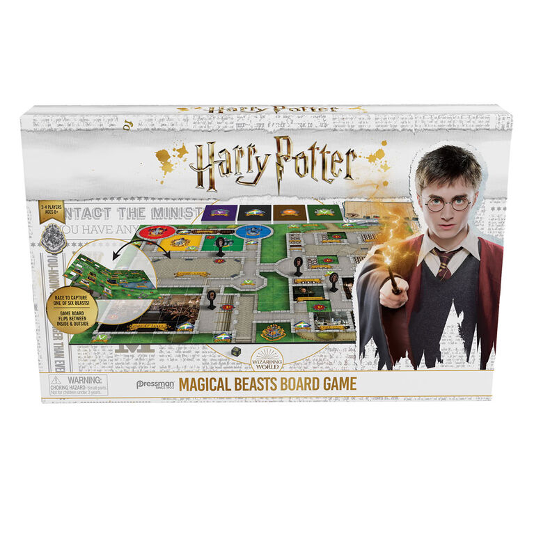 Pressman: Harry Potter Magical Beasts Board Game - English Edition