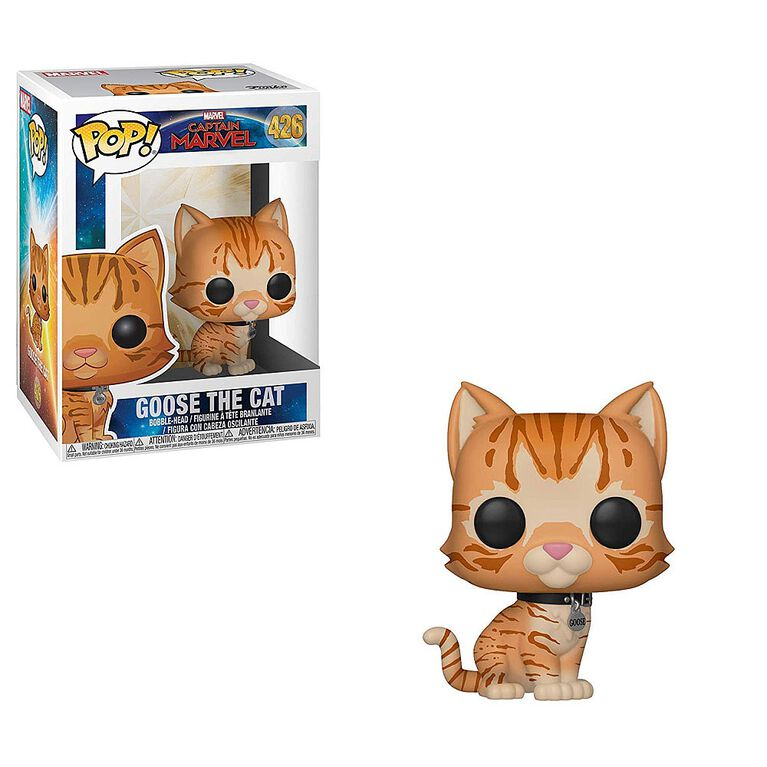 Funko POP! Marvel: Captain Marvel - Goose The Cat Vinyl Figure