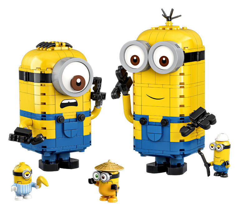 LEGO Minions Brick-built Minions and their Lair 75551