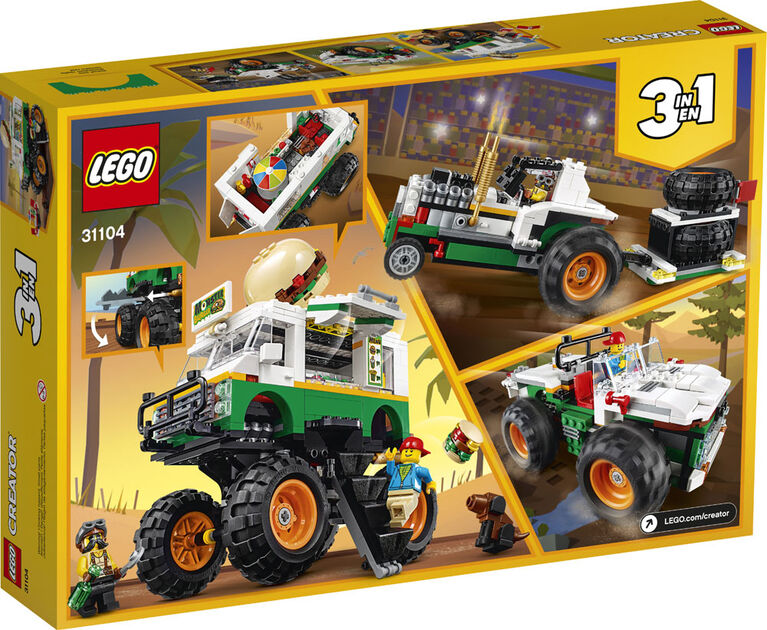 LEGO Creator Monster Burger Truck 31104