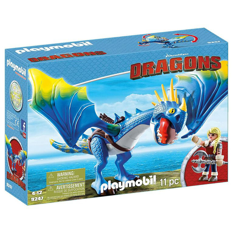 Playmobil - How To Train Your Dragon - Astrid & Stormfly