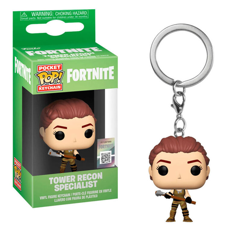 Funko Keychains: Fortnite - Tower Recon Specialist
