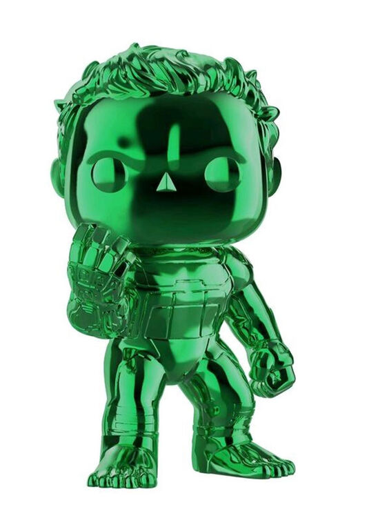 Funko POP! Movies: Avengers - Hulk (Green Chrome) - R Exclusive
