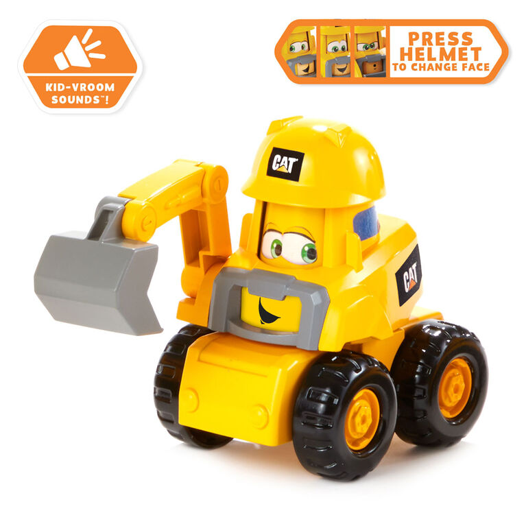 CatJunior Crew Construction Pals 3 Pack