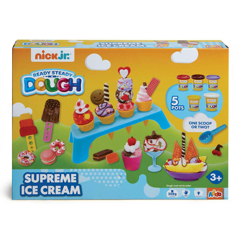 Pâte à modeler Ready Steady Dough Supreme Ice Cream Nick Jr