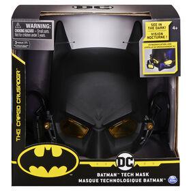BATMAN, Masque technologique de jeu de rôle avec lumières et lentille de grossissement