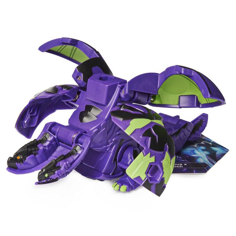 Bakugan Deka, Fusion Nillious x Eenoch, Figurine transformable géante à collectionner