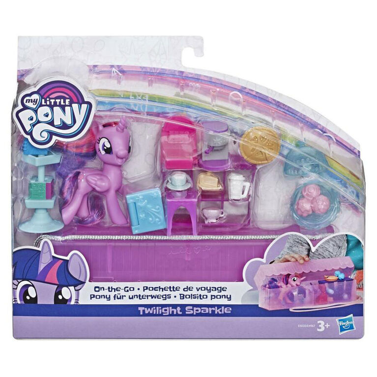 My Little Pony On-the-Go Twilight Sparkle - Figure with 14 Accessories and Storage Case - R Exclusive