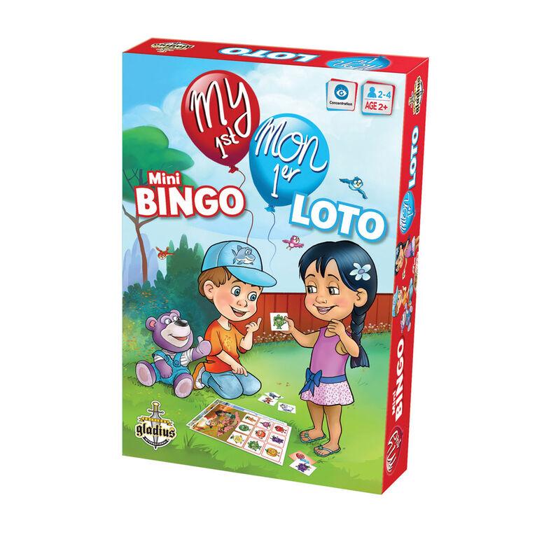 My 1St Mini Bingo - French Edition