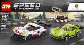 LEGO Speed Champions Porsche 911 RSR and 911 Turbo 30 75888