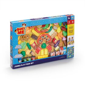 Busy Me 120 piece Jumbo Play Food Set - R Exclusive