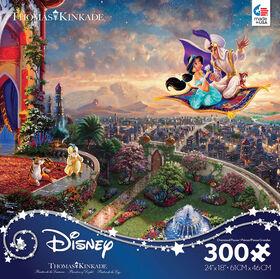 Ceaco: Thomas Kinkade Disney - Aladdin - 300 Piece Puzzle
