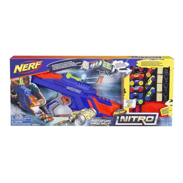 Nerf Nitro MotorFury Rapid Rally - R Exclusive