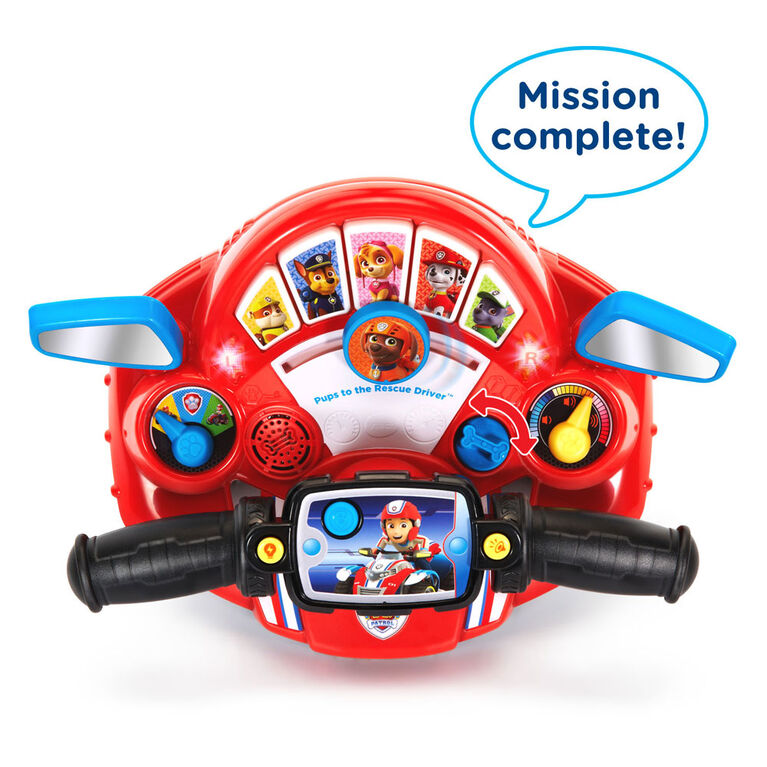 Vtech - Paw Patrol Pups to the Rescue Driver - English Edition