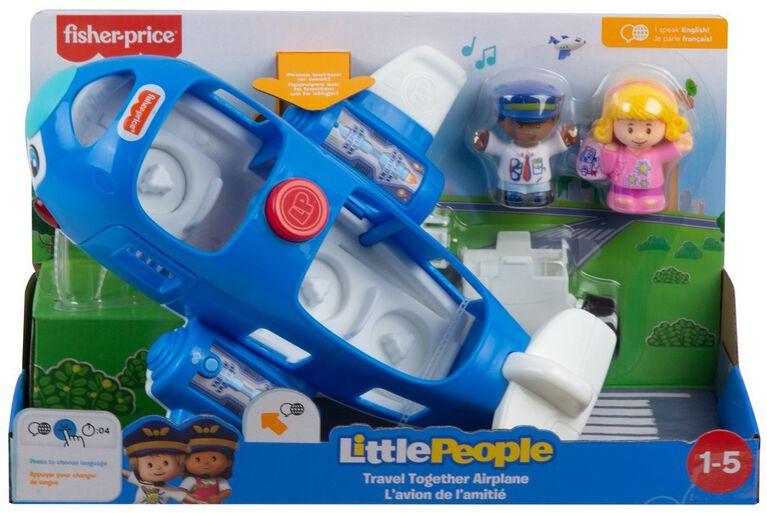 Fisher-Price - Little People - L'Avion de l'Amitié - Édition bilingue