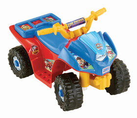 "Fisher-Price Power Wheels - Porteur La Pat ""Patrouille Lil"" Quad"