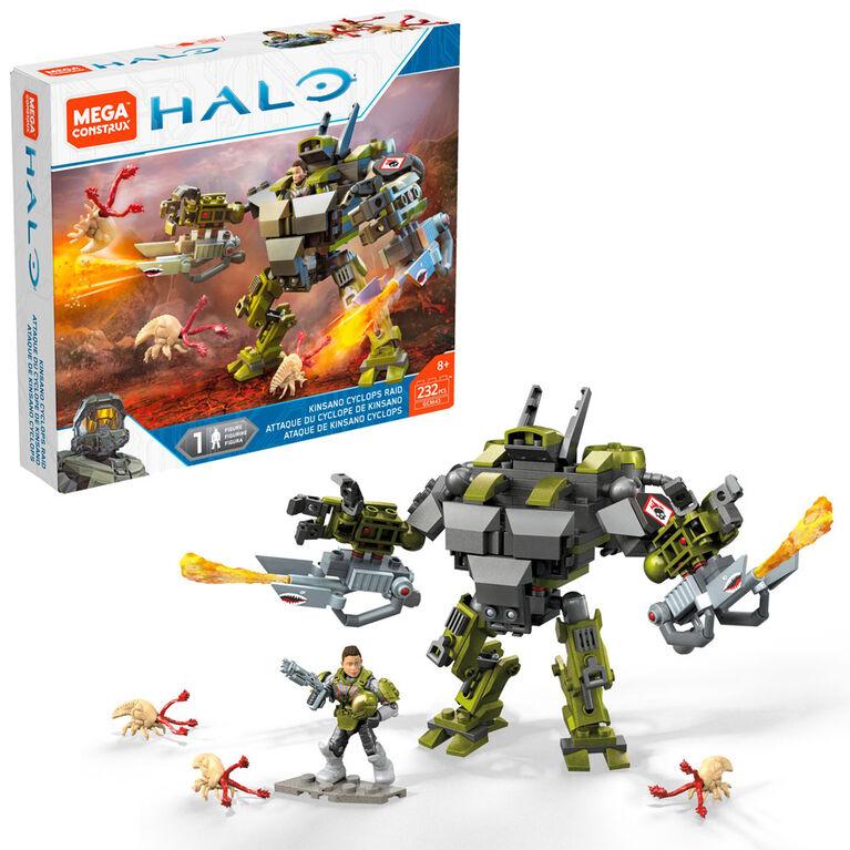 Mega Construx Halo Kinsano Cyclops Figure