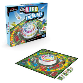 Deux grands jeux réunis, Destins Le jeu de la vie et Trouble, combinaison d'éléments de 2 jeux classiques - Notre exclusivité - Édition anglaise