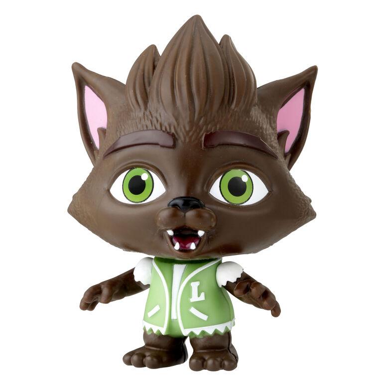 Netflix Super mini monstres - Figurine Lobo Howler de 10 cm à collectionner
