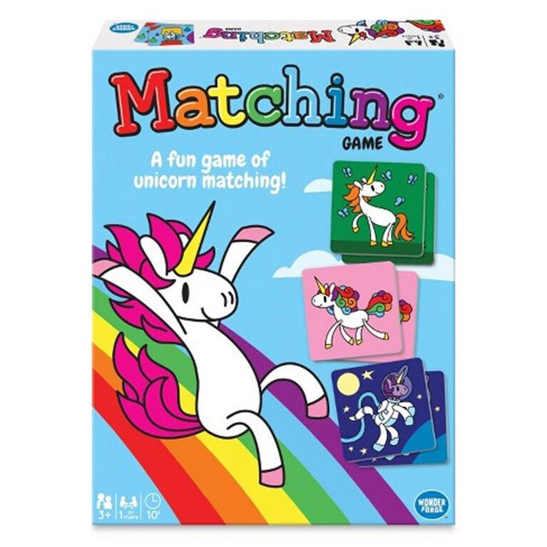 Ravensburger! Wonderforge - Unicorn Matching Game - English Edition